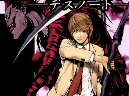 Death Note cover volume one